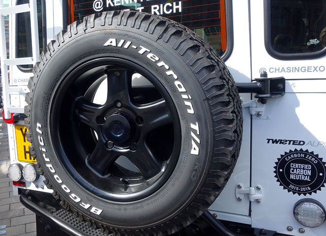 twisted-spare-tyre
