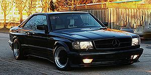 Mercedes 560 SEC AMG Widebody