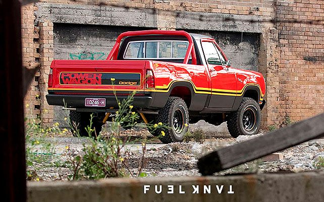 Dodge Power Wagon - Foto Luke Ray
